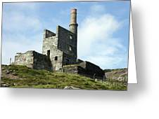 Allihies Copper Mine West Cork Greeting Card