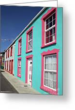 Allihies Streetscape West Cork Greeting Card