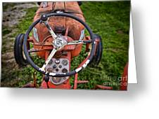 Allis Chalmers As You Sit Greeting Card