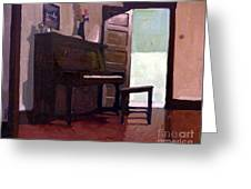 Allison's Piano Greeting Card