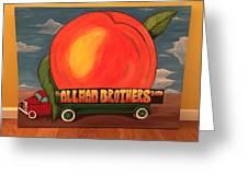 Allman Brothers Eat A Peach Duvet Cover
