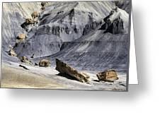 Allstrom Point Rocks 2436 Greeting Card