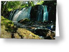 Allt Beochlich Waterfall Greeting Card