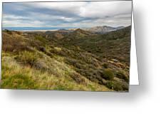 Alluring Landscape Of Arizona Greeting Card