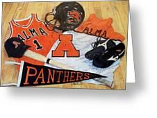 Alma High School Athletics Greeting Card