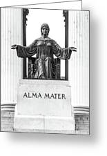 Alma Mater Greeting Card