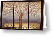 Almond Tree Greeting Card