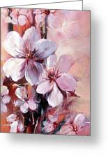 Almonds Blossom  12 Greeting Card