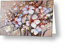 Almonds Blossom  2 Greeting Card