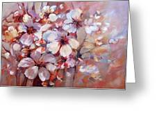 Almonds Blossom  6 Greeting Card