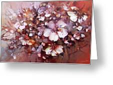 Almonds Blossom  7 Greeting Card