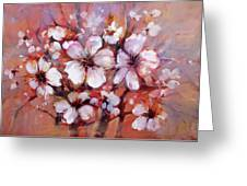Almonds Blossom  8 Greeting Card
