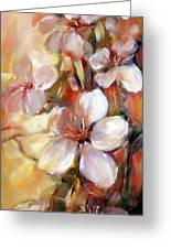 Almonds Blossom  9 Greeting Card