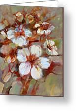 Almonds Blossom1 Greeting Card
