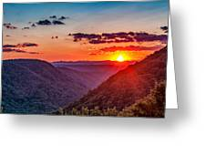 Almost Heaven - West Virginia Greeting Card
