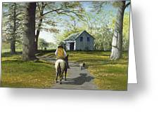 Almost Home 16x20 Greeting Card