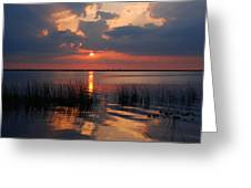 Almost Sunset In Florida Greeting Card