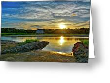 Almost Sunset In Pawleys Island Greeting Card
