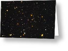 Almost Ten Thousand Galaxies As Seen By Hubble Greeting Card