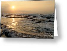 Aloha Oe Sunset Hookipa Beach Maui North Shore Hawaii Greeting Card