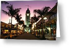 Aloha Tower Marketplace Greeting Card