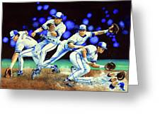 Alomar On Second Greeting Card