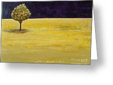Alone In The Night Greeting Card