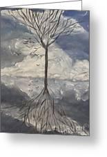 Alone Tree Greeting Card
