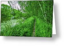 Along Creek #g1 Greeting Card