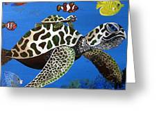Along For The Ride Greeting Card