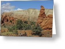Along Panorama Trail Greeting Card