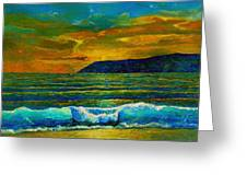 Along The African Coast Greeting Card