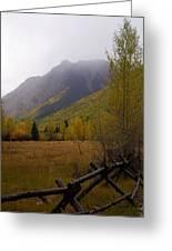Along The Alpine Loop Greeting Card