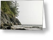 Along The Coast Greeting Card