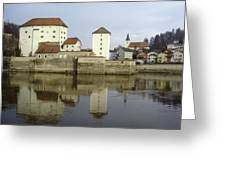 Along The Danube Greeting Card
