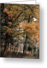 Along The Edge Of October Greeting Card