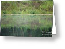 Along The Edge Of The Pond Greeting Card