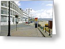 Along The Esplanade At Sandown Greeting Card