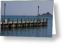 Along The Lakeshore Greeting Card