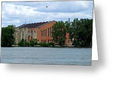 Along The Maumee Greeting Card