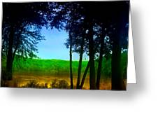 Along The Muddy River Greeting Card