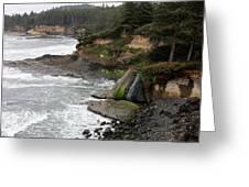 Along The Oregon Coast - 7 Greeting Card