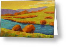 Along The River In Steamboat Springs II Greeting Card