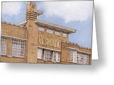 Along The River Zaan Verkade Factory Greeting Card