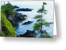 Along The West Coast 1 Greeting Card