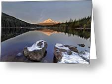 Alpenglow Greeting Card