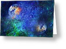 Alpha Centauri Abstract Moods Greeting Card