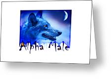 Alpha Male Greeting Card