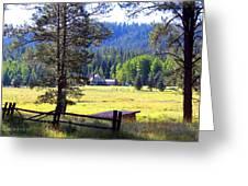 Alpine Arizona Greeting Card
