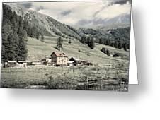 Alpine Farm Greeting Card